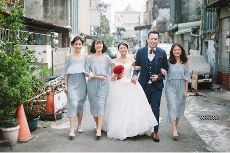 時光流域婚禮紀錄 | 台中兆品酒店 | 訂結/喜宴