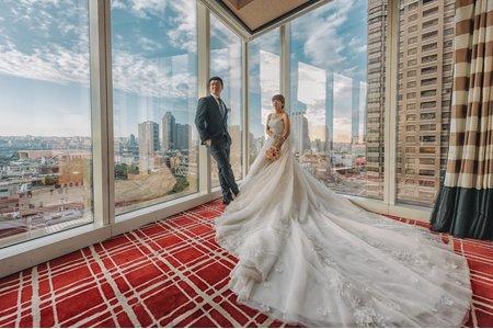 時光流域婚攝 台中林酒店 迎娶喜宴