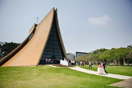 時光流域婚禮紀錄 | 台中東海教堂證婚