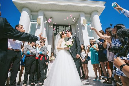 教堂婚禮/攝影師Jerry/陳昱豪 水上教堂