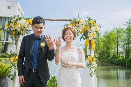 戶外婚禮 婚禮紀實/攝影師Jerry/陳昱豪