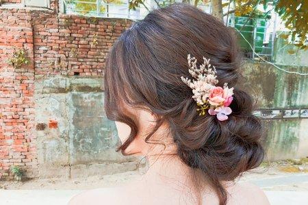 歐美韓系浪漫盤髮