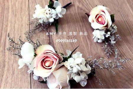 手作客製乾燥花飾品