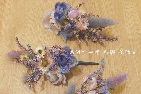 Amy手作花飾品
