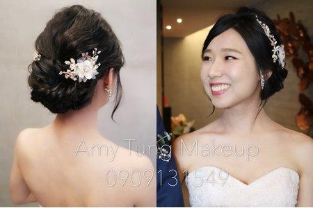 韓式小清新風格新娘