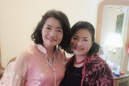 2018/03/28 媽媽、阿姨 妝髮