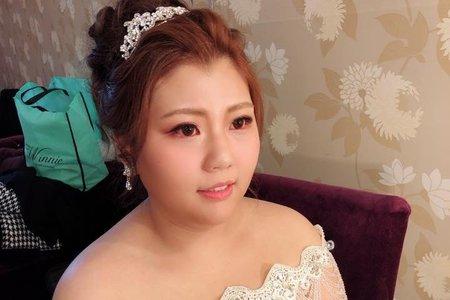 韓風白紗造型