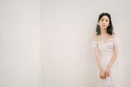 有溫度的妝《新娘秘書-婚禮三造型》