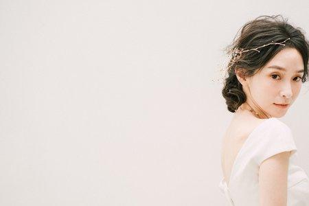 有溫度的妝-新娘秘書訂婚單髮妝報價