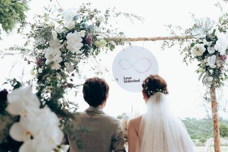彩虹婚紗、婚禮
