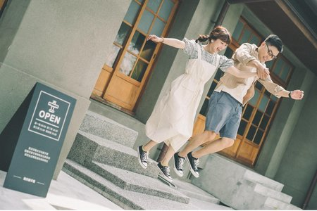 文青風格婚紗造型