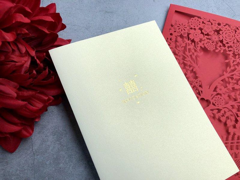春天婚卡【唯愛永生】喜帖T300123