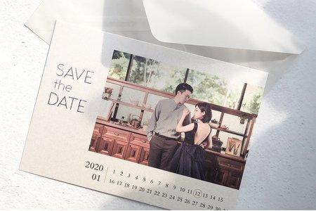 【閃亮的日子】彩色相片/單卡/明信片式喜帖‧星幻卡喜帖‧婚卡 MP3203