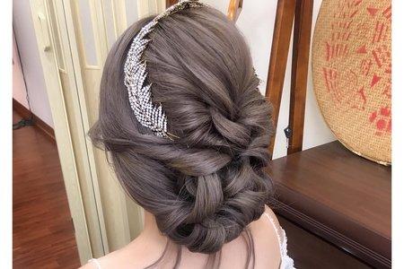 韓式浪漫編髮
