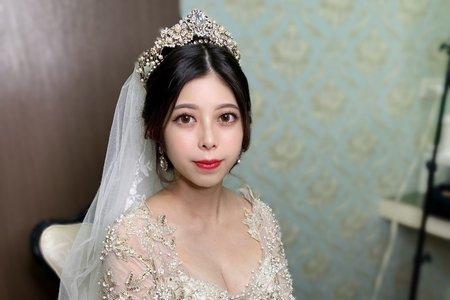 韓風氣質白紗造型