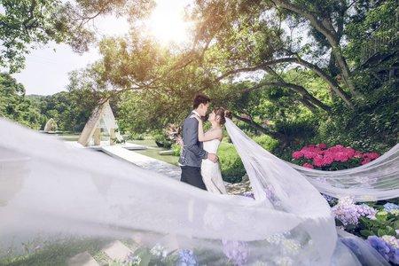 [自主婚紗] 健志&佳蓉 格林 幸福自主婚紗