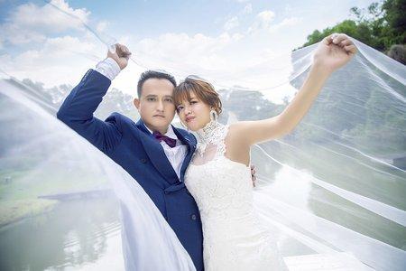 [自主婚紗] 光明&映華 格林 幸福自主婚紗