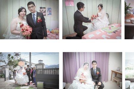 【埔里 帝一村】築偉&菁怡 幸福結婚記錄