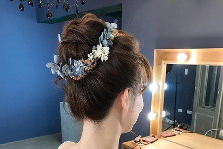 日系公主乾燥花造型