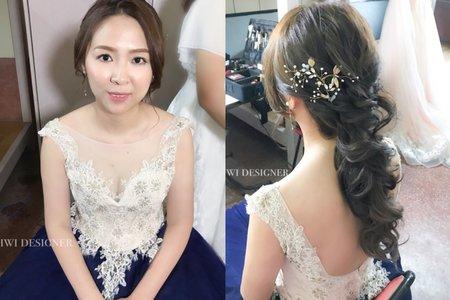 浪漫公主捲髮造型