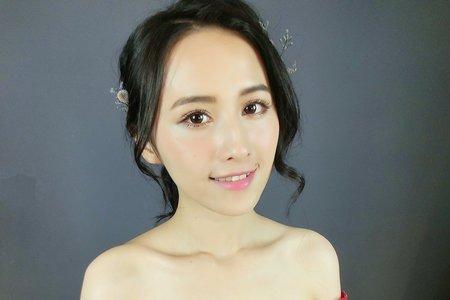 簡約時尚精緻妝容#wiwi designer 葳葳彩妝造型