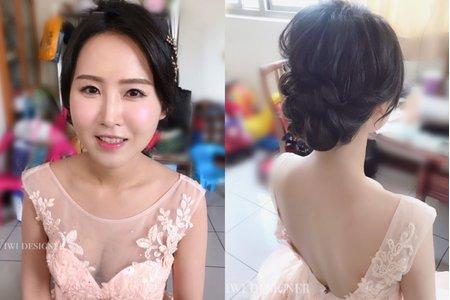 高級質感妝容造型
