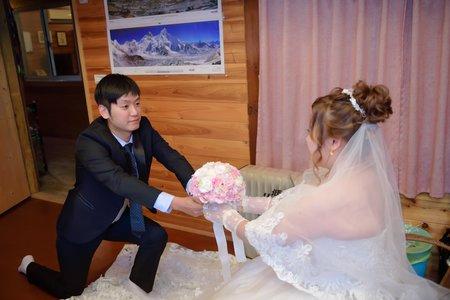 2017-11-25 聖融&雅荻 幸福紀錄.台北新店-豪鼎飯店