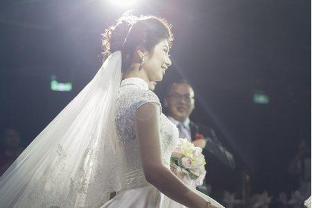 品妤 結婚彩妝造型