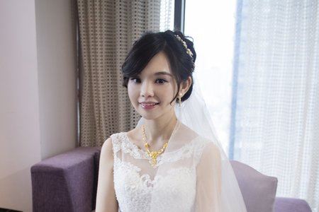 奐君 文定+迎娶彩妝造型