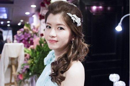 詩晴 結婚彩妝造型