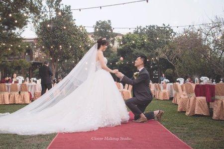 夢幻婚禮-韓系抽絲盤髮