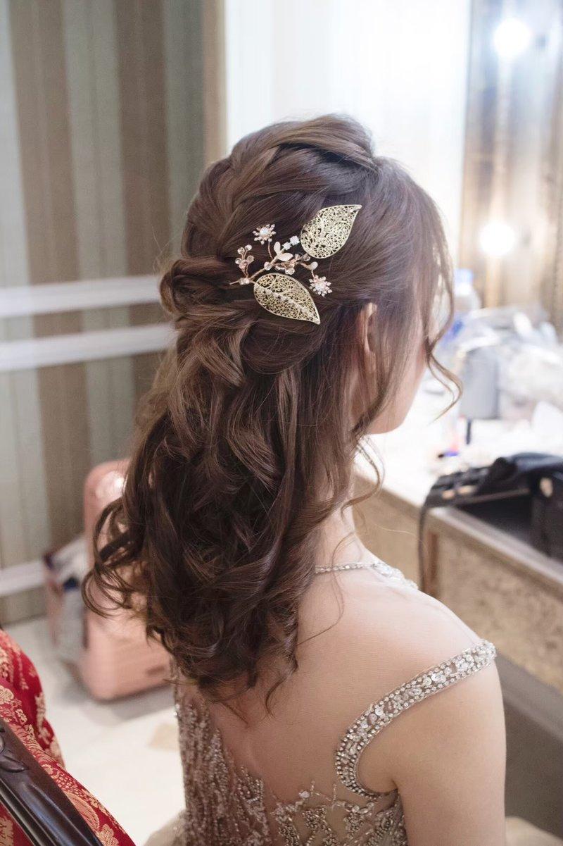 訂婚/結婚 單妝髮彩妝造型服務作品