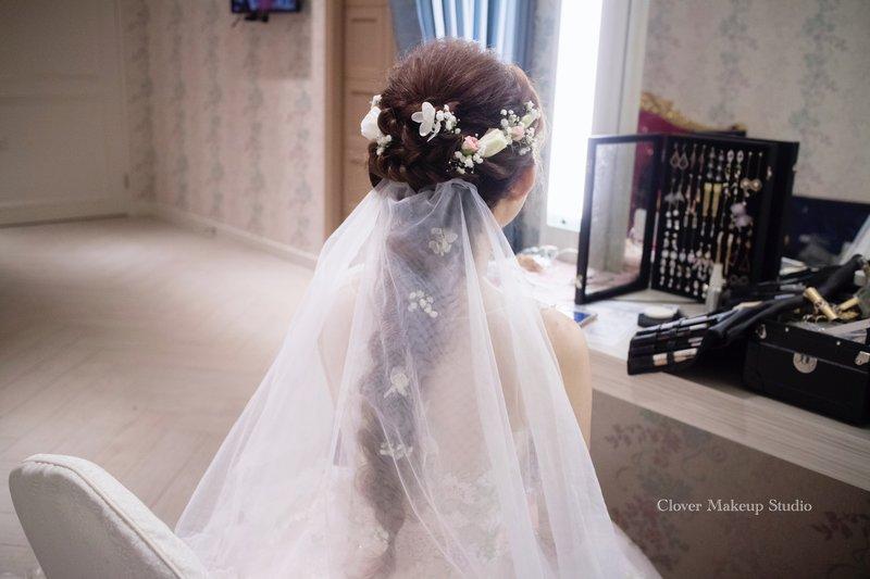 訂結婚+午宴 彩妝造型服務作品