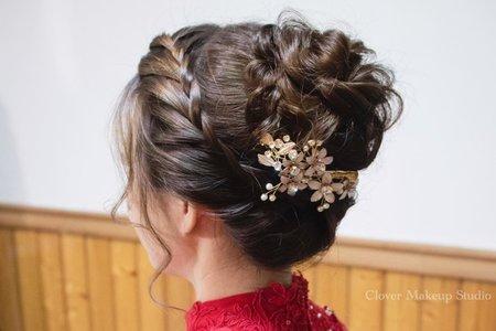 類旗袍-編髮造型