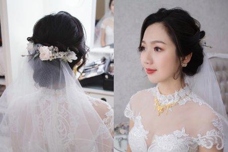 清新氣質彩妝造型-台中新秘薇瑄彩妝造型師