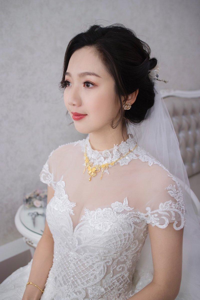 訂結婚+晚宴 彩妝造型服務作品