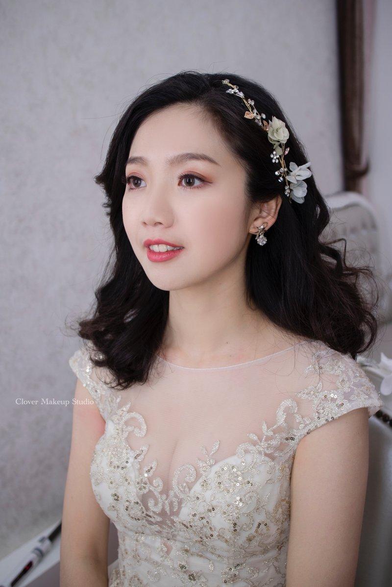 訂婚/結婚單妝髮彩妝造型服務作品