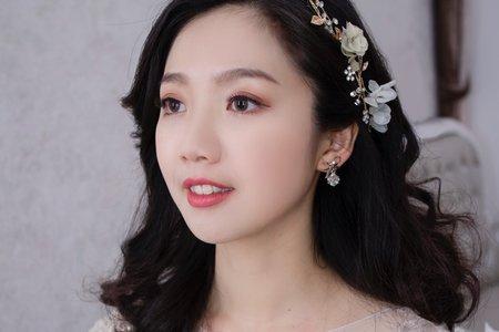 訂婚/結婚單妝髮彩妝造型服務
