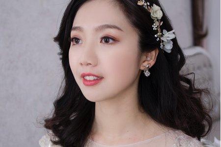韓式妝感-台中新娘秘書薇瑄彩妝造型
