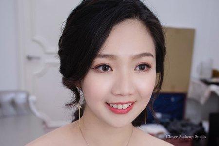 低馬尾造型集-台中新娘秘書薇瑄彩妝造型