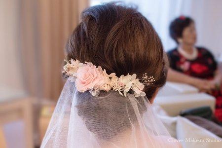 訂結雙儀式 /台中新娘秘書薇瑄彩妝造型