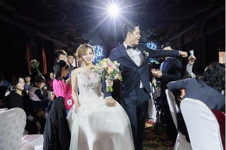 [婚禮攝影]迎娶+午宴_中僑花園飯店