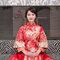 婚攝 台中雅園新潮 婚禮攝影 唯美龍鳳褂新娘 G & C 012