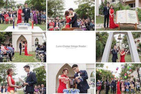 婚攝推薦 台南商務會館 戶外證婚 婚禮攝影 W & N