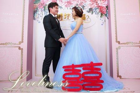 盛堉&宛緗 結婚紀事 平面攝影