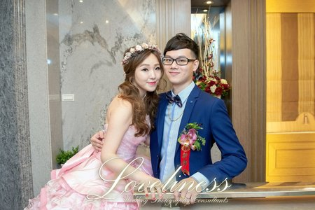 睿哲&芳瑜 結婚紀事 平面攝影