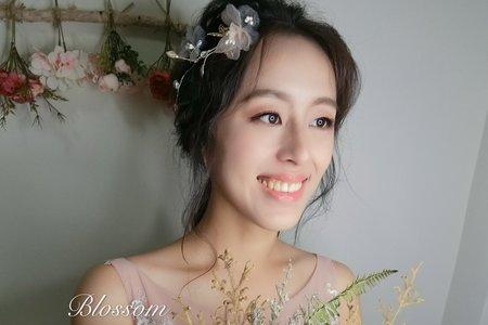 自然彩妝新娘造型