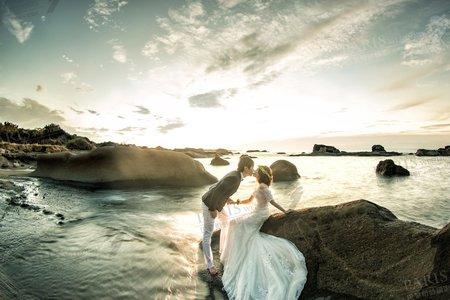 《炙熱東海岸》巴黎婚紗攝影