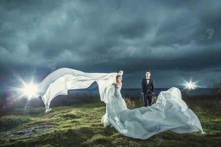 《絢爛夜上海》巴黎婚紗攝影