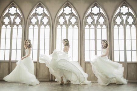 巴黎婚紗個人藝術照